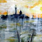 Morgenregen in Venedig - 35x51