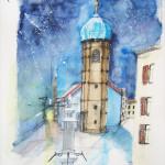 Bregenz Seekapelle - 36x48